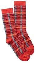 Pendleton Plaid Crew Socks