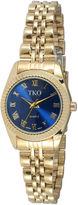 JCPenney TKO ORLOGI Womens Blue Dial Petite Bracelet Watch
