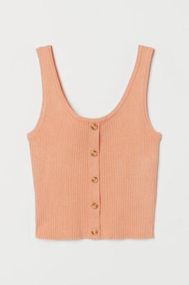 H&M Rib-knit top