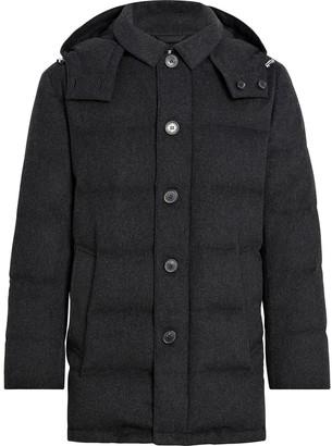 MACKINTOSH AUCHAVAN Charcoal Storm System Wool Down Jacket | GD-001