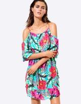 Seafolly Cold Shoulder Dress