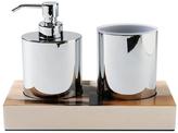 Water Works Garda Soap Dish and Tumbler Bath Set (3 PC)