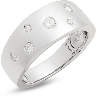 Bony Levy Ofira Wide Diamond Band Ring