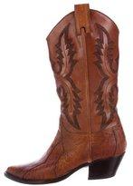 Sartore Ostrich Cowboy Boots