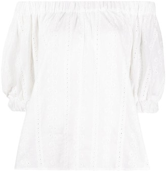 REJINA PYO Off-The-Shoulder Broderie Anglaise Top
