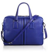 Tod's Pebbled Leather Briefcase