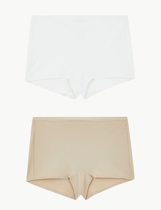 Marks and Spencer 2pk Light Control No VPL Shaping Shorts