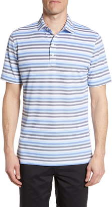 Levi's johnnie-O Classic Fit Stripe Performance Polo