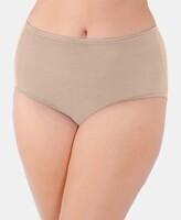 Thumbnail for your product : Vanity Fair Women's Illumination Plus Size Satin-Trim Brief Underwear 13811