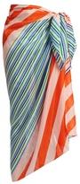 Diane von Furstenberg Aiken cotton-blend scarf