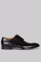 Hardy Amies Black Derby Shoes
