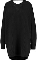 Ellery Napoleon open-back ribbed wool sweater