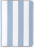 Whistles Saffiano Stripe Card Holder