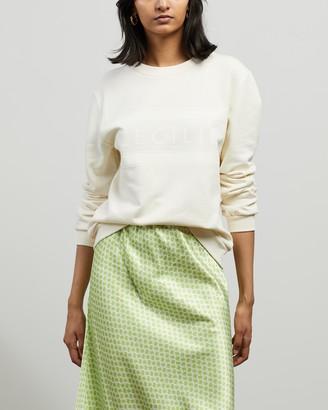 Cecilie Copenhagen Women's White Sweats - Manila Sweater - Size XS at The Iconic
