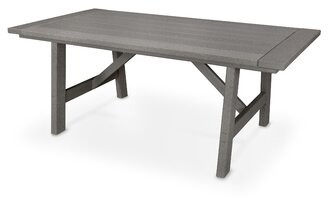 "Polywoodâ® Rectangular 29"" Table POLYWOODA"