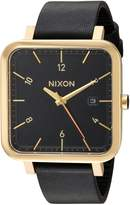 Nixon Men's A939513 Ragnar Analog Display Japanese Quartz Black Watch