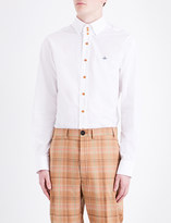 Vivienne Westwood Krall classic-fit stretch-cotton shirt