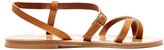 K. Jacques Calcutta leather sandals