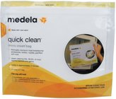 Medela Quick Clean Micro-Steam Bags - 5 ct