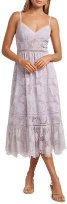 Ever New Lace Midi Prom Dress