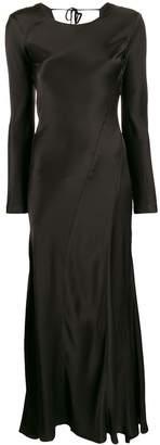 Semi-Couture Semicouture long-sleeved midi dress