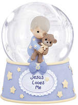 Precious Moments Boy With Teddy Waterball Baby Milestones - Boys, One Size , Multiple Colors