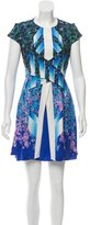 Peter Pilotto Silk Printed Dress w/ Tags
