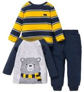 Little Me Baby Boy's Cotton Bear Sweater and Jogger Pants Set