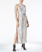 GUESS Grayson Animal-Print Maxi Dress