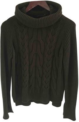 Alexander McQueen Gold Cashmere Knitwear