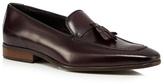 Jeff Banks Dark Brown Leather Tassel Loafers