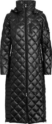 Ralph Lauren Hooded Quilted Down Coat