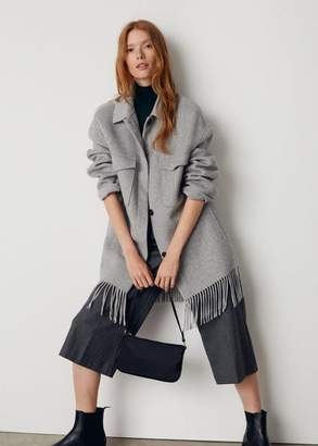 MANGO Baguette bag black - One size - Women