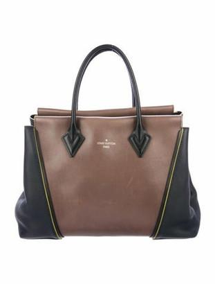 Louis Vuitton Monogram W PM Tote silver