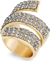 Thalia Sodi Gold-Tone Pavé Coil Ring, Created for Macy's