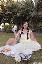 Thumbnail for your product : Forever 21 Plus Size Smocked Tie-Strap Dress