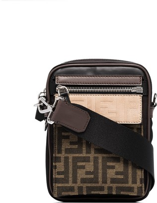 Fendi FF motif crossbody bag