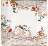 Wedgwood Wonderlust Rococo Flowers Tea Tray, White/Multi, 14.5cm