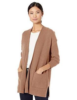 Goodthreads Wool Blend Honeycomb Cocoon Sweater Cardigan,XS