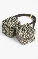 France Luxe 'Cube Bauble' Ponytail Holder