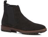 Mantaray Black Suede Chelsea Boots
