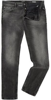 Replay Thyber Black Denim Slim-Fit Jeans