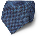 Drakes Drake's - 8cm Puppytooth Wool and Silk-Blend Tie