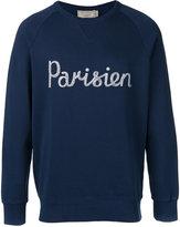 MAISON KITSUNÉ Parisien sweatshirt - men - Cotton - M