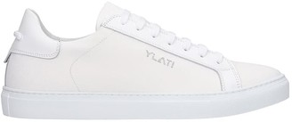 Ylati Sneakers In White Canvas