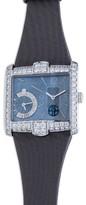 Harry Winston Avenue B 18K White Gold and Diamond Watch