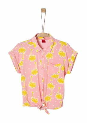 s.Oliver Junior Blouse Bluse Kurzarm Girl's
