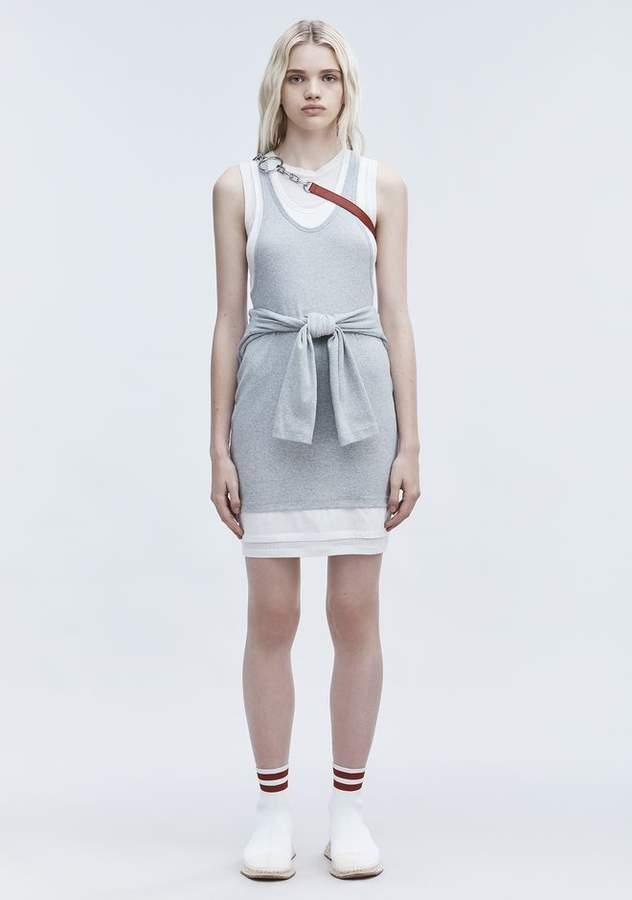 Alexander Wang LAYERED TANK DRESS Short Dress