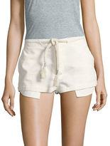 Free People Beach Please Linen-Blend Shorts