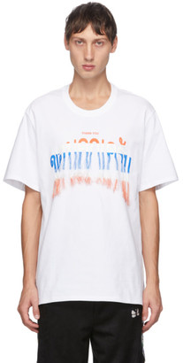 Doublet White Thank You T-Shirt